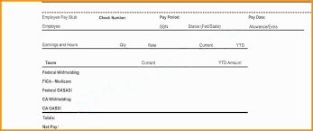 Pay Stub Samples Templates Independent Contractor Pay Stub Template Ten Easy Rules Of