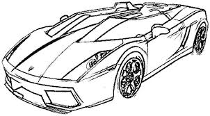Free Sport Cars Coloring Pages Page Sports Car Tuning Transportation