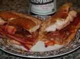 bbq chicken sandwich    waco family favorite