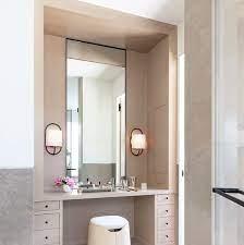 11 Stylish Makeup Vanity Ideas Vanity Table Organization Tips