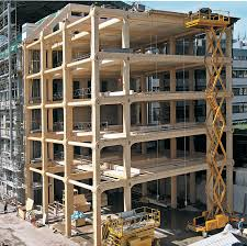 wooden office buildings. Enochliew: Tamedia Office Building By Shigeru Ban Architects The Entire Timber Structural System Is Visible Throughout. Wooden Buildings O