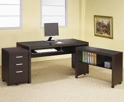 dark brown wooden computer desk amazing computer furniture design wooden computer