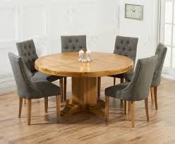 stylish round dining table for 6 dining table and chairs on glass dining table