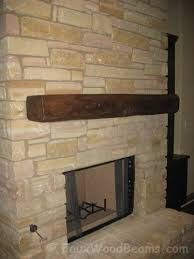 fireplace mantel design goes rustic with a yellowstone mantel