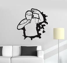 widely used nba wall murals in vinyl decal rap hip hop battle teen room art