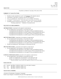Resume Styles Examples Resume Templates