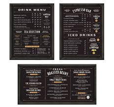 Menu Board Design Balzacs Coffee Roasters Menu Boards Cafe Menu Boards