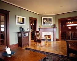 Blue With Dark Wood Traditional Home Warm Interior Paint Colors Dark Wood  Trim Design, Pictures, Remodel, Decor And Ideas