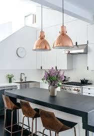 wonderful fixtures copper hanging lights with copper kitchen light fixtures i