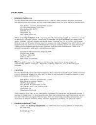Retail Business Plan Outline Retail Business Proposal Template Euraforum Info