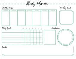 Planner Sheet Student Study Planner Sheet By Heyemmateach Teachers Pay Teachers