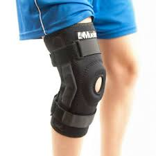 Details About Knee Support Hinged Brace Sports Chronic Pain Ligament Stabilizer Wrap Mueller