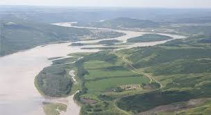 Rivière de la Paix