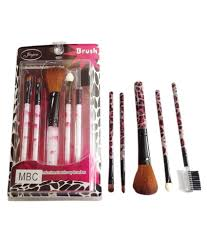 steel paris professional make up brushes set of 5 no s