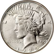 1925 S Peace Silver Dollar Coin Value Facts