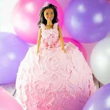 How To Make A Barbie Doll Cake Step By Step Instructions Step By