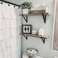 the 90 best bathroom shelf ideas