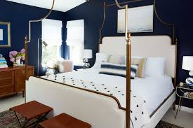 A Structured Bed Frame Matches Ties Into The Angled Ceilings On Design* Sponge