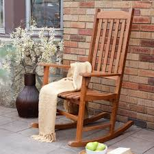 c coast indoor outdoor mission slat rocking chair natural hayneedle