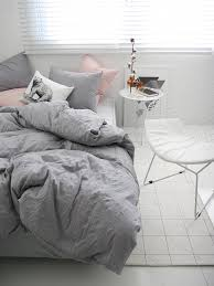 brilliant natural gray colored naturally wrinkled soft twin magnoliaamor gray bedding sets ideas
