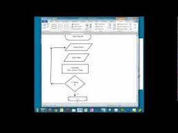 How To Make Flow Chart In Ms Word Creating A Simple Flowchart In Microsoft Word