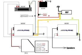 how do i hook up a amp to my car how to run two amps in a car at Car Dual Amplifier Wiring Diagram