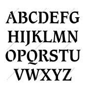 Number Stencil Font Stencil Letters Free Printable Stencil Letters Fonts Numbers
