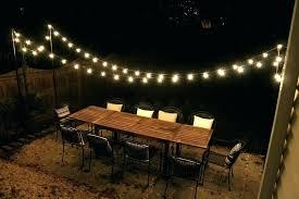 outdoor lighting backyard. Patio Light Pole Backyard Strings Astound Outdoor Lights Solar Exterior Post Lighting G