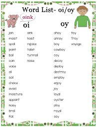 With these printable worksheets, you'll be able to teach students the different ways to spell the /ow phonics word wheel: Teaching The Oi Oy Diphthongs Phonics Bundle Make Take Teach