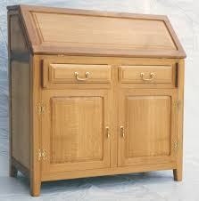 office bureau desk. Transitional Writing Desk Bureau Oak Office