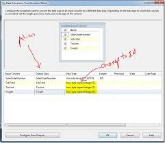Ssis Data Type Conversion Chart Data Conversion For Sql Server Integration Services Ssis