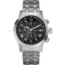 "men s guess boulevard chronograph watch w13550g1 watch shop comâ""¢ mens guess boulevard chronograph watch w13550g1"