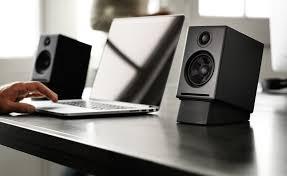 speakers desk. audioengine a2+ desktop speakers review desk