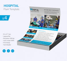 35 flyer templates psd eps format stunning hospital flyer template