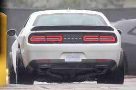 2018 dodge engines. perfect 2018 dodge challenger hellcat adr spied is a widebody sore thumb and 2018 dodge engines