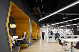 cool office interior. Loop / Real Estate Services Firm Cool Office Interior B