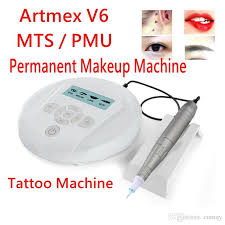 professional semi permanent makeup machine eyebrow lip tattoo kits mts pmu system electric derma pen artmex v6 uk 2019 from qy gbp 58 47 dhgate uk