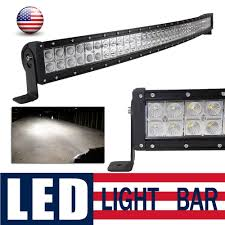42 Led Light Bar Cree Details About 42 Inch 240w Curved Cree Led Work Light Bar Combo Beam Offroad Fog Lamp Atv Suv