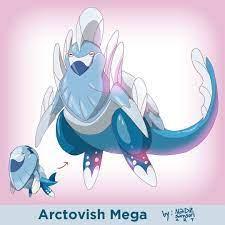 "nadz's Instagram photo: ""Arctovish Mega ? #arctovish #fossilpokemon 2 more  subs for YT for 100sub milestone ?… | Pokemon, Mega evolution pokemon,  Cute baby sloths"