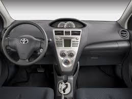 Image: 2008 Toyota Yaris 4-door Sedan Auto S (Natl) Dashboard ...