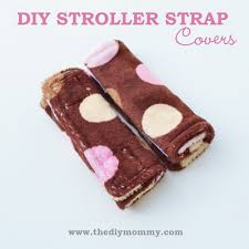 diy stroller cat strap covers by the diy mommy