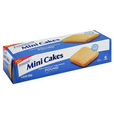 Entenmanns Mini Pound Cake 6ct925oz Target