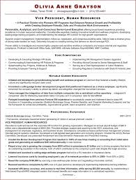 Free Executive Resume Sample For Hr Vp Doc 72kb 2 Page S