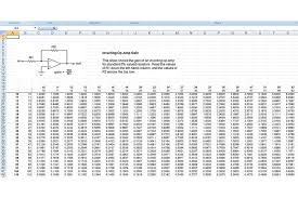 Analog Design Spreadsheets The Forgotten Analog Design Tool Nuts
