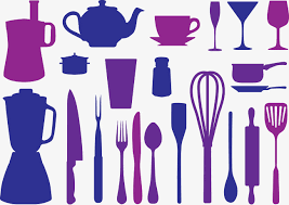 kitchen utensils silhouette vector free. Western Kitchen Utensils Silhouette Vector., Vector Kitchen, Kitchenware, Style Free