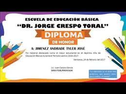 formato mencion de honor descargar plantillas de diplomas en word y powerpoint youtube