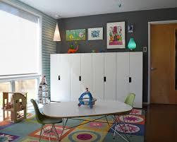 cool playroom furniture. Amazing Kids Playroom Furniture From Ikea : Cool Midcentury Fun