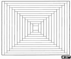 Kleurplaat Mandala Van Een Vierkant Kleurplaten