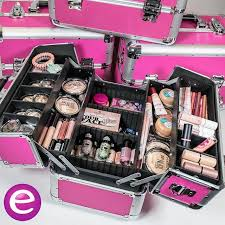 beauty suitcases filled with our new s essence cosmetics beauty makeup