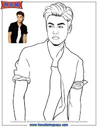 Small Picture Free Printable Justin Bieber Coloring Pages H M Coloring Pages